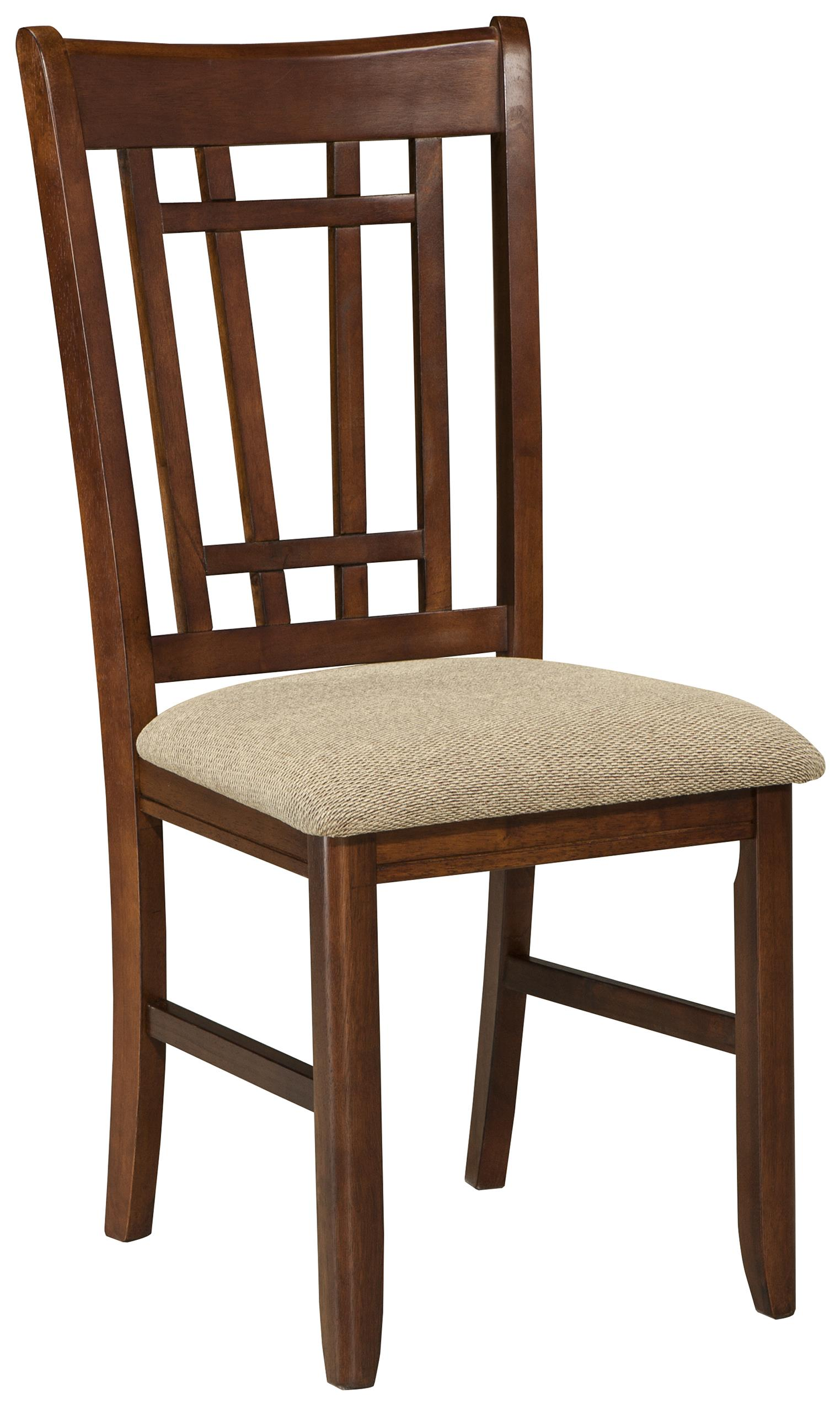 Intercon Mission Casuals Lattice Back Dining Chair - Item Number: MI-CH-850C-DMI-RTA