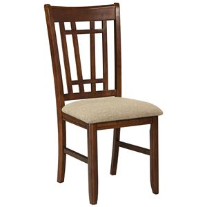 Intercon Mission Casuals Lattice Back Dining Chair