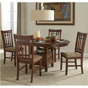 Intercon Mission Casuals 5 Piece Table & Chair Set