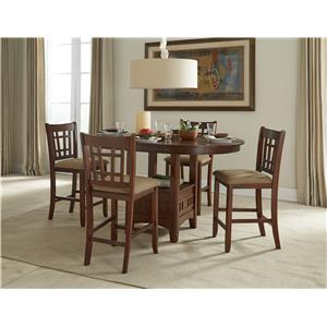 Intercon Mission Casuals 5-Piece Gathering Set