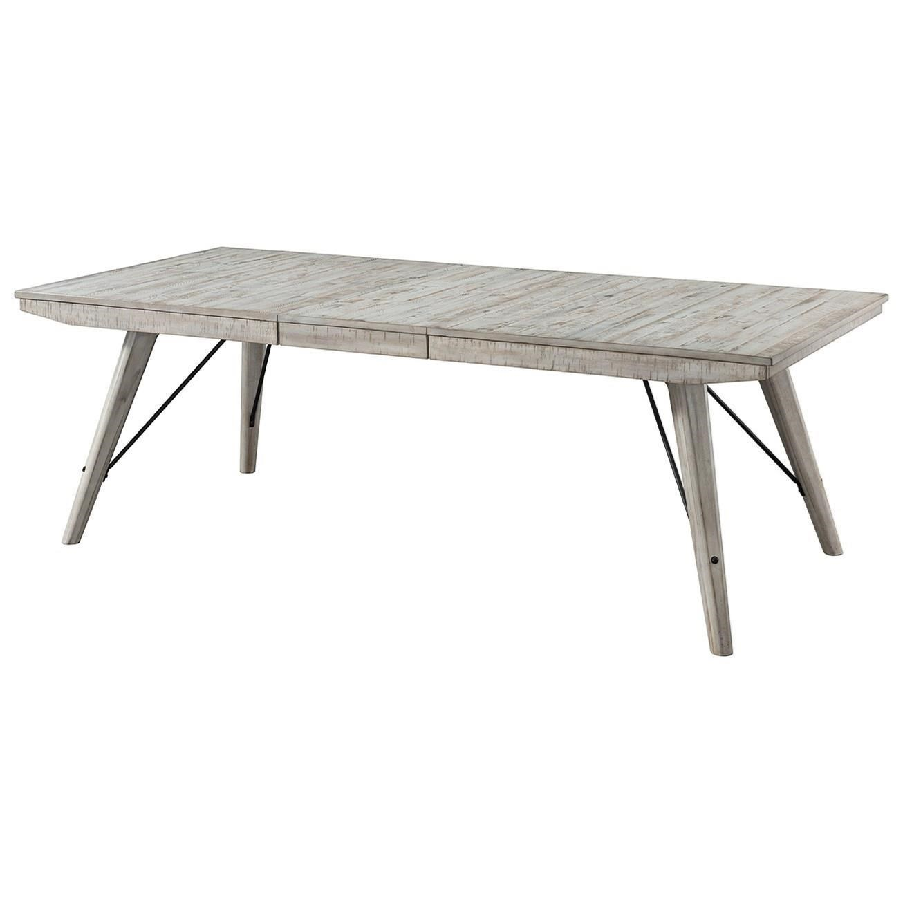Rectangular Dining Room Tables With Leaves: Intercon Modern Rustic Contemporary Rectangular Dining