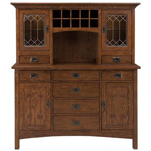 Intercon Oak Park China Cabinet