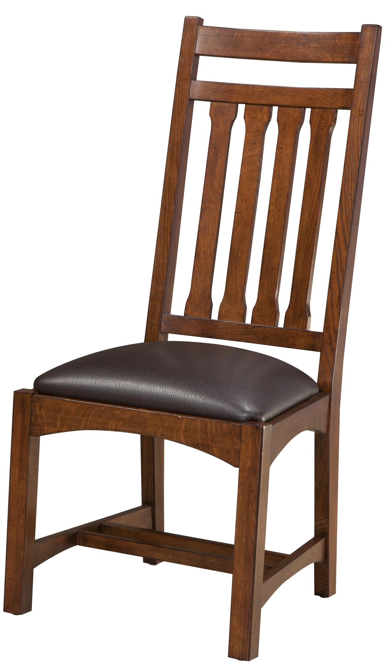 Intercon Oak Park Dining Side Chair - Item Number: OP-CH-925C-MIS-RTA