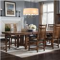 Intercon Oak Park Trestle Table - Item Number: OP-TA-42104B-MIS-C