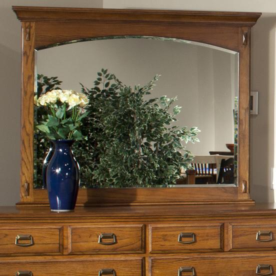 Intercon Pasadena Revival  Mirror - Item Number: PR-BR-5491-MBN-C
