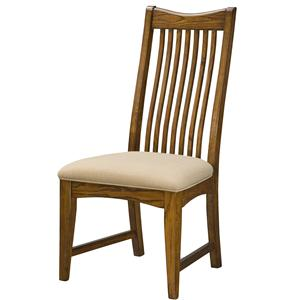 Intercon Pasadena Revival  Slat Back Side Chair