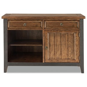 Sensational Intercon Whiskey River Rustic Sideboard With 5 Drawers Bralicious Painted Fabric Chair Ideas Braliciousco