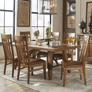 Intercon River 7 Piece Dining Set