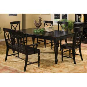 Intercon Roanoke Dining Table With Leaf