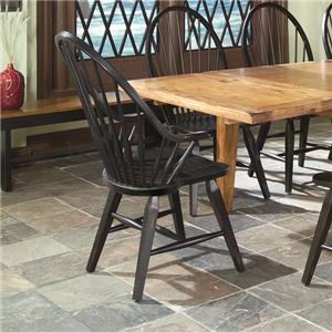 Intercon Rustic Traditions Rustic Windsor Arm Chair