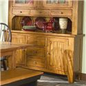 "VFM Signature Rustic Traditions 60"" Buffet with 2 Doors - Item Number: 6035-RUS-BSE"
