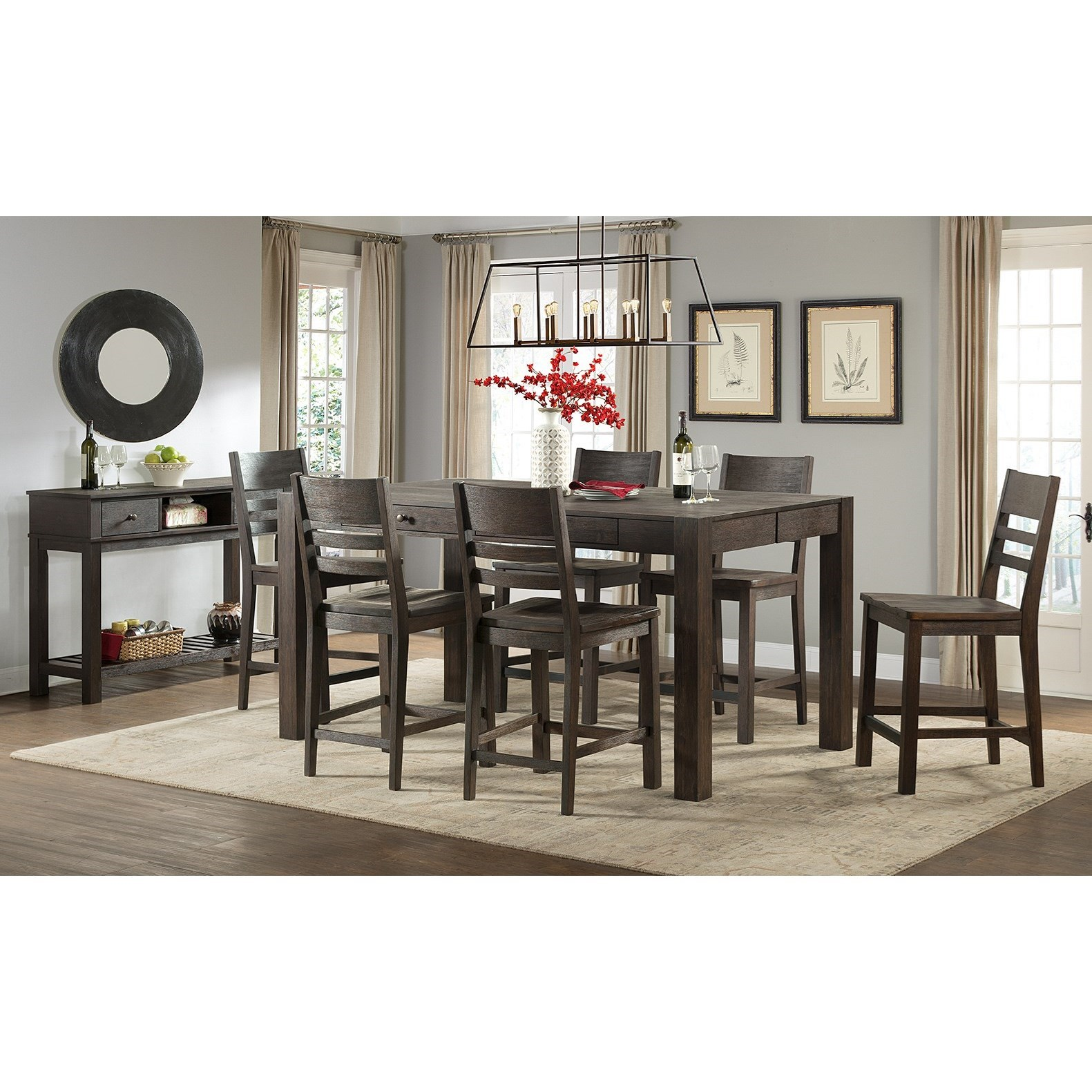 Salem Dining Room Group by Intercon at Rife's Home Furniture