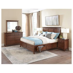 Intercon San Mateo King Bedroom Group