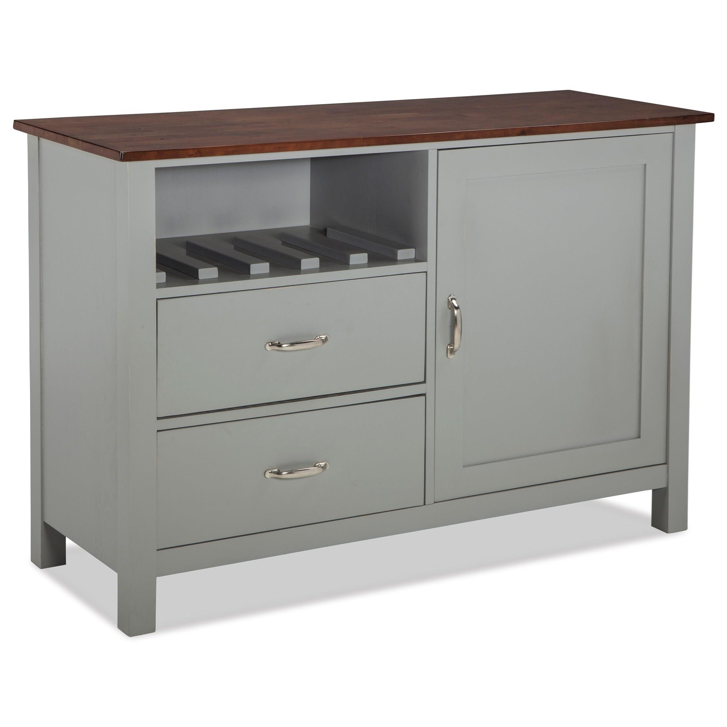 Intercon Small Space Dining Storage Server Buffet With