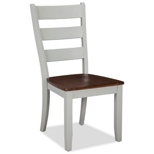 Intercon Small Space Ladder Back Side Chair