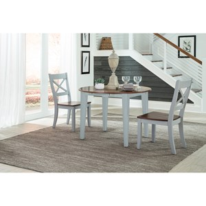 Intercon Small Space 3 Piece Dining Set