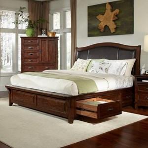 Intercon Star Valley Queen Storage Bed