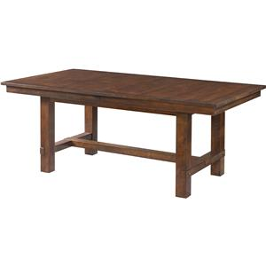 Intercon Star Valley Trestle Table