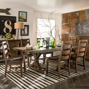 Intercon Taos 7 Piece Table Set