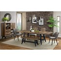 Intercon Urban Rustic  Formal Dining Room Group - Item Number: UR Dining Room Group 2