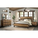 Intercon Urban Rustic  King Bedroom Group - Item Number: UR K Bedroom Group 2