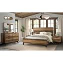 Intercon Urban Rustic  Queen Bedroom Group - Item Number: UR Q Bedroom Group 2