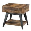 Intercon Urban Rustic  End Table - Item Number: UR-TA-2426-BWH-C