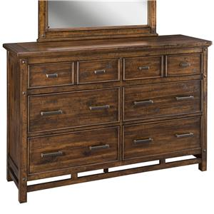 Intercon Wolf Creek 6-Drawer Dresser