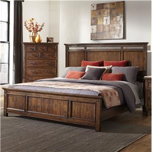 Intercon Wolf Creek Queen Panel Bed