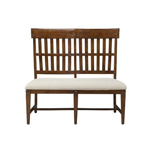 Intercon Wolf Creek Slat Back Dining Bench