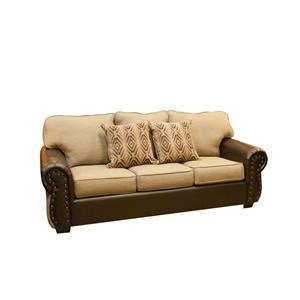 Intermountain Furniture Navajo Southwest Style Loveseat Boulevard Home Furnishings Love Seat
