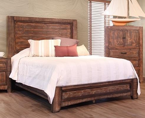 International Furniture Direct Porto King Bed - Item Number: IFDI-GRP-IFD2020-KINGBED