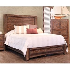 International Furniture Direct Porto Queen Bed