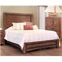International Furniture Direct Porto Queen Bed - Item Number: IFDI-GRP-IFD2020-QUEENBED