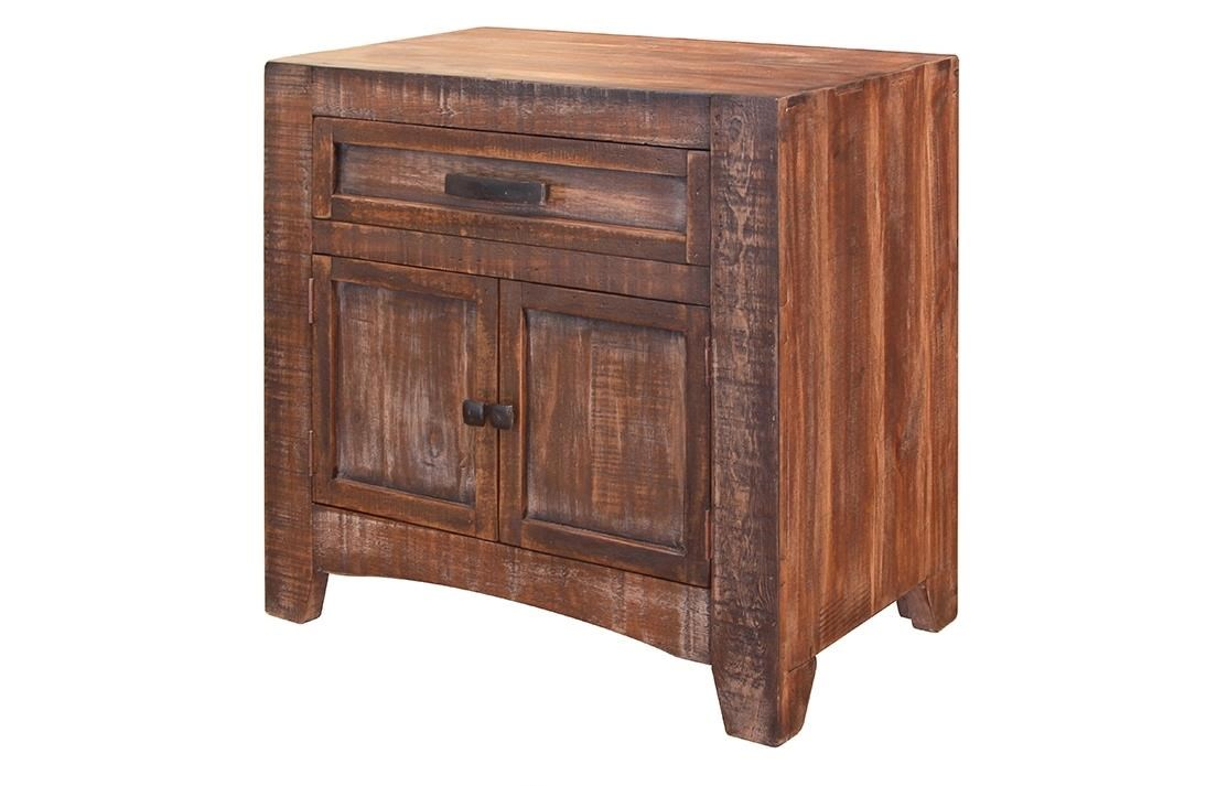 International Furniture Direct Porto Nightstand - Item Number: IFDI-IFD2020NTST