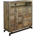 International Furniture Direct Queretaro Media Chest - Item Number: IFD220GREAT-CTV