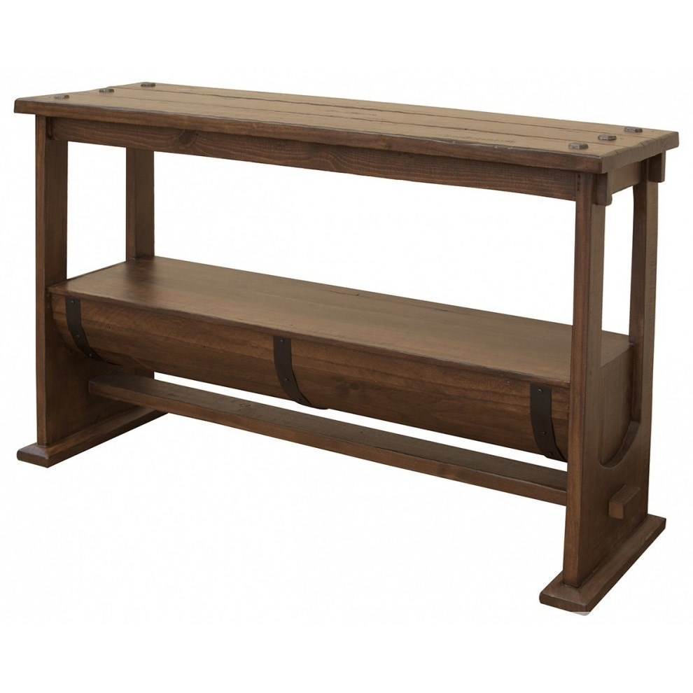 Barrel Console Table