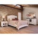 International Furniture Direct Pueblo Cal King Bedroom Group - Item Number: 360W CK Bedroom Group 1