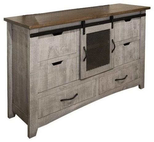 Morelia Gray Dresser at Ruby Gordon Home