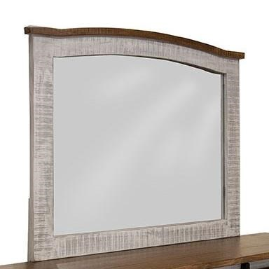Pueblo Mirror by International Furniture Direct at Houston's Yuma Furniture