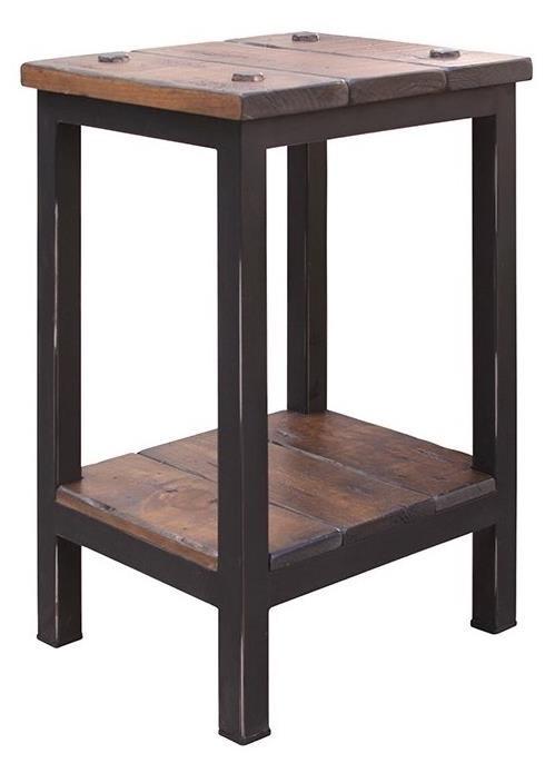 International Furniture Direct Pueblo Chairside Table - Item Number: IFD359END