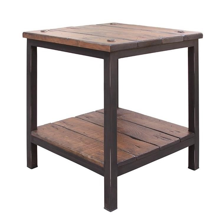 International Furniture Direct 359 Pueblo End Table - Item Number: IFD359END