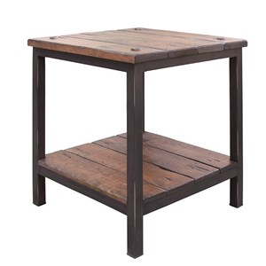 International Furniture Direct 359 Pueblo End Table