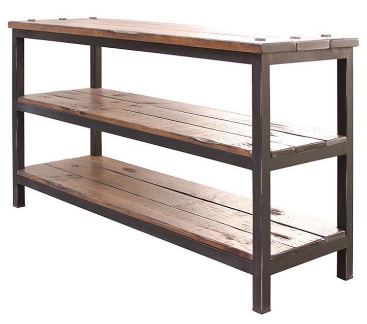 International Furniture Direct Pueblo Sofa Table - Item Number: IFD359SOFA