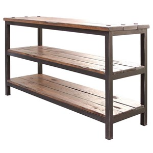 International Furniture Direct Pueblo Sofa Table