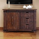 "International Furniture Direct Pueblo 50"" TV Stand - Item Number: IFD359STAND-50"