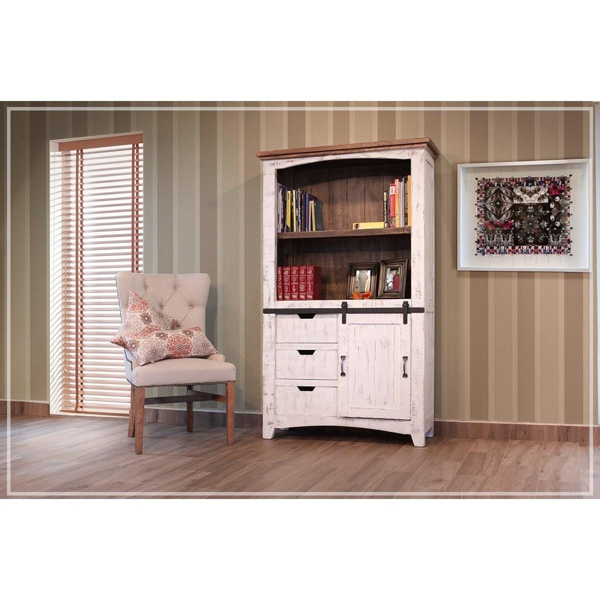 "International Furniture Direct Pueblo 70"" Bookcase With"