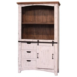 "International Furniture Direct Pueblo 70"" Bookcase"
