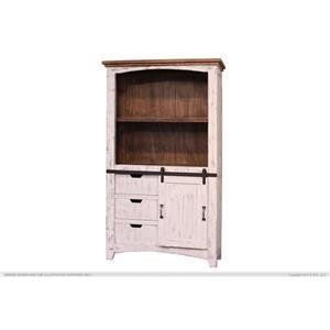 """International Furniture Direct Pueblo 70"""" Bookcase"""