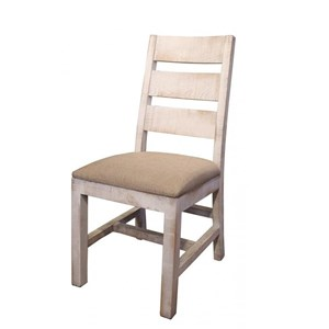 International Furniture Direct Pueblo Upholstered Side Chair